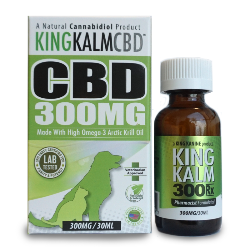 King Kanine King Kalm CBD Oil for Dogs