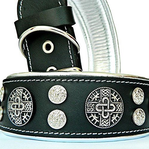 Bestia Hektor Genuine Leather Dog Collar