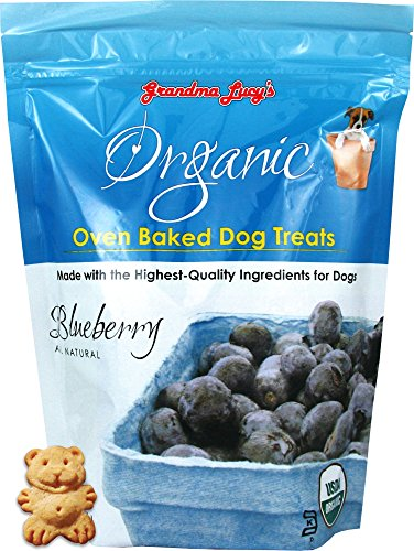 Grandma Lucy's Organic Baked Blueberry dog treats