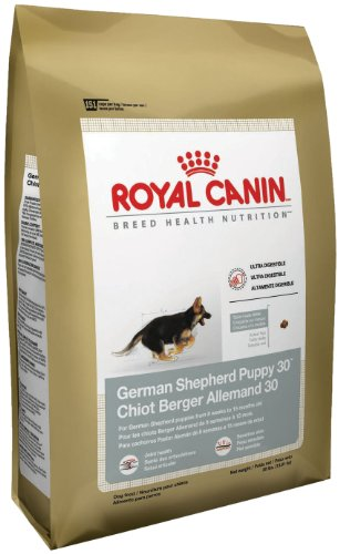 Royal Canin breed health nutrition dog food for GSD puppies