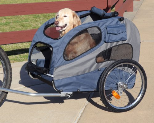 Large Pet Dog Bike Trailer