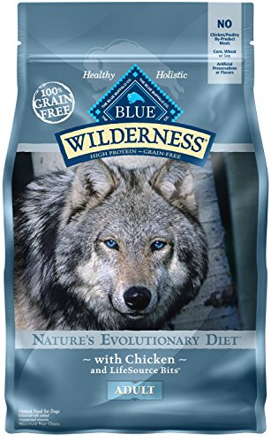 Blue Wilderness protein natural chicken husky dog food