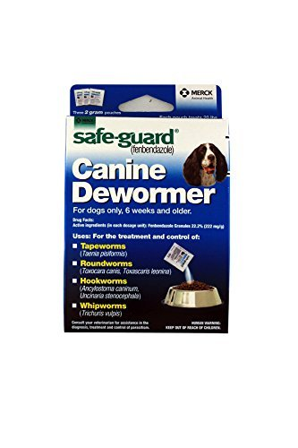 Safe guard canine dewormer