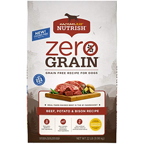 Rachael Ray Nutrish Zero Grain Natural Dry Dog Food