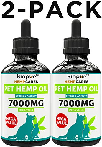 Kinpur (2 Pack | 7000MG) Hemp Oil for Dogs
