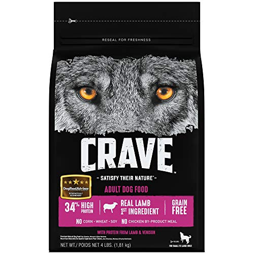 CRAVE Grain Free High Protein Dog Food